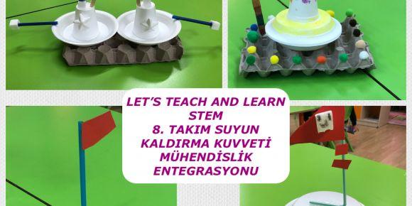 """""""Let's Teach And Learn Stem"""" Projesi Suyun Kaldırma Kuvveti"""