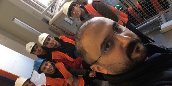 Satom Asansör Bölümü Öğrencileri Uygulayarak Öğreniyor