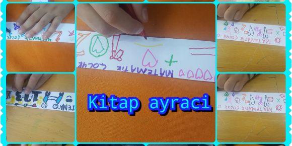 Maths Is As Easy As A Child Game  Projesi Kapsamında Kitap Ayraçları Yaptılar