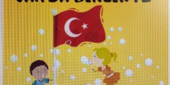 Tunceli'den bir miniğimiz  81 arkadaşı ile buluşmaya Van'a gidiyor