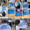 Çocuklar Reversi Oyunu İle Hem Eğlendi Hem Yarıştı