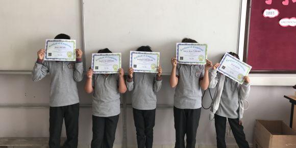 Yazıköy ilkokulu kodlama haftasına katıldı