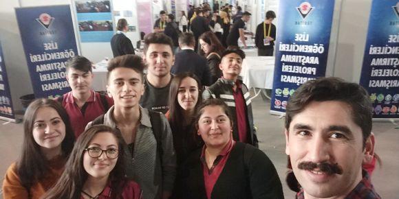 51.Tübitak liselerarası proje yarışması bölge finali ziyareti