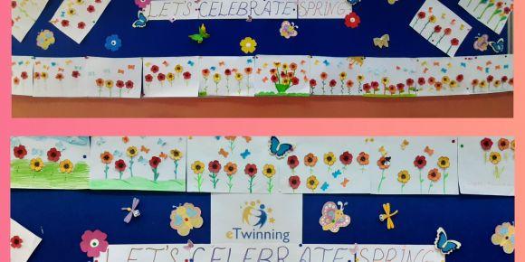 e Twinning Let's Celebrate Spring Projesi