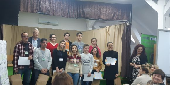 1. Murat Ortaokulu Erasmus+ Projesi ile Romanya'da