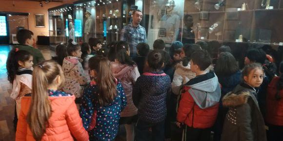 Proje kapsamında hem müzeyi gezdiler hem de tüm ortaklarına tanıttılar