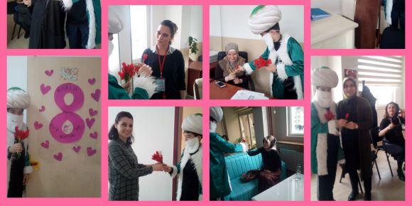 8 Mart Dünya Kadınlar Günü Etkinliğimiz