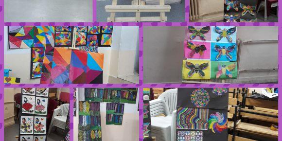 Ayşe Tokur İlkokulu 4/B Sınıfı Muhteşem Çalışmalarını Sergiledi