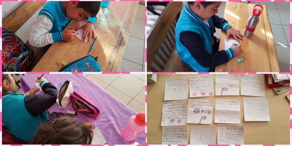 """""""Kahramanlık Destanı Şanlı Bayrağım"""" eTwinning projesinde  öğrenciler kendilerini tanıttılar"""