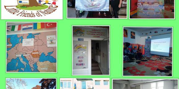 """Little Friends of Nature"" Erasmus KA229 projemizin Romanya hareketliliği"