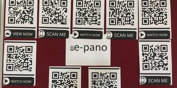 Akıl ve Zeka Oyunlarını ile Daha Etkiliyor Dersler Projesinde QR Code ile E-pano