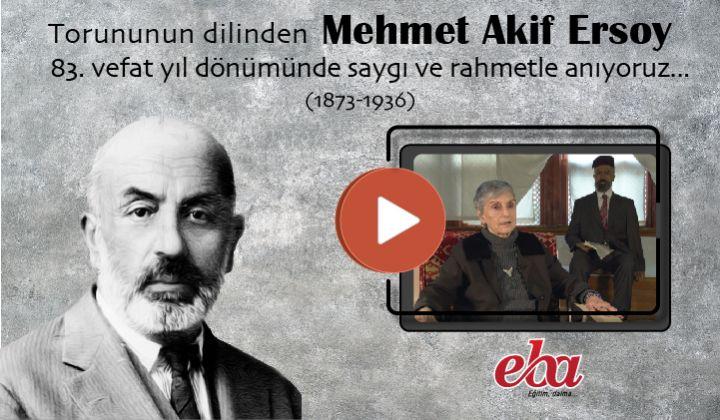 Mehmet Akif ERSOY un Ölüm Yıldönümü