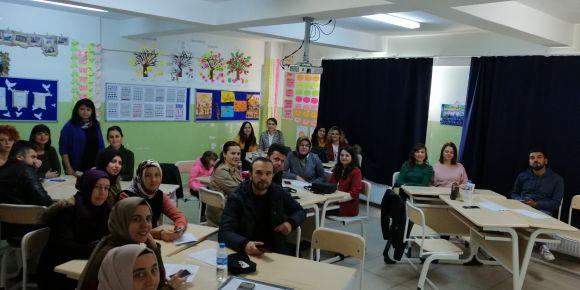 Öğretmenler ara tatilde eTwinning seminerinde