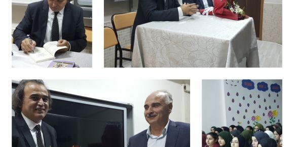 Proje grupları Yazar Bülent Keskin'i misafir etti