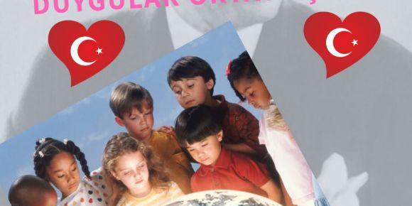 23 Nisanda çocuk sesleri ile renkler karışsın duygular ortaya çıksın