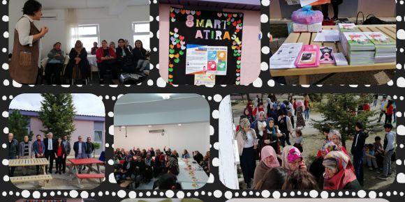 8 Mart Dünya Kadınlar Günü kapsamında velilerimize program hazırladık