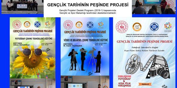 """""""Gençlik Tarihinin Peşinde"""" Gençlik ve Spor Bakanlığı Projemiz"""