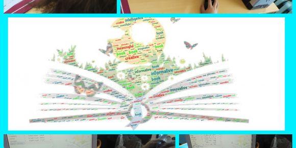 Mehmet Akif Ersoy İlkokulu web2 aracı ile Dünya Okuma Günü'nü kutluyor