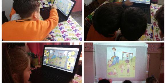 Dijital oyunlarımızı oynadık