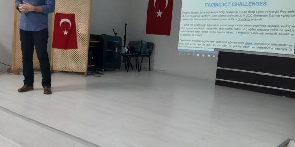 Erasmus projemiz : FACING ICT Challenges !