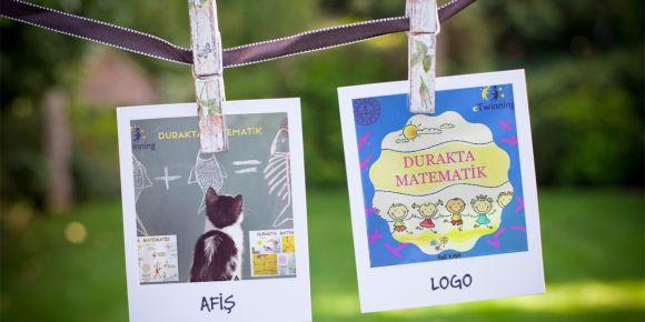 'Durakta Matematik eTwinning Projesi' kapsamında afiş ve logo yarışması yapılıyor
