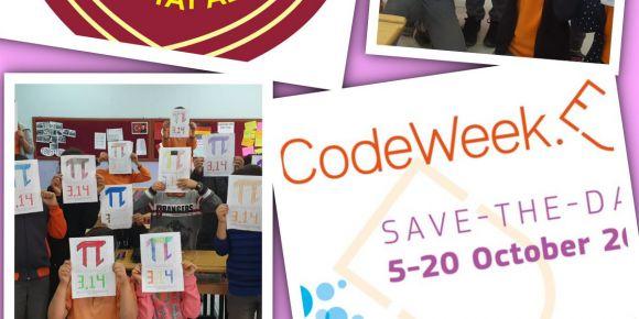 """Kodlama Haftası Kapsamında """"The Colorful World Of Math Code Week"""" Etkinliği Yapıldı"""