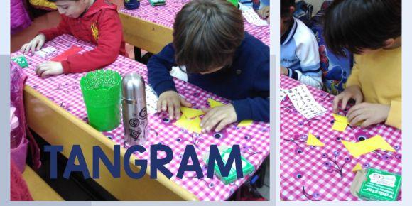 Tangram oynuyoruz