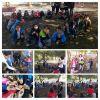 1-D sınıfı 5 Aralık Dünya Gönüllüler Günü'nde palamut tohumu ekiyor etkinliği