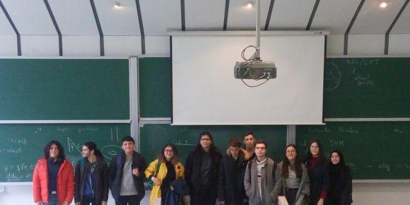 Matematik Proje öğrencilerimiz IV. ODTÜ Matematik Topluluğu Çalıştayı