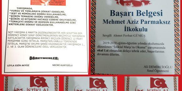 İstiklal Marşı Güzel Okuma Yarışması