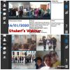 Canlı Bağlantıda Proje Ortağı  Öğrenciler Birlikte Oyun Oynadılar