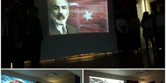 İstiklal Marşı'mızın 99. yıldönümünü kutladık