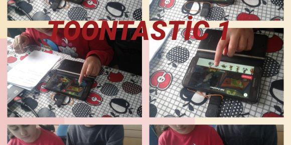 Toontastic web2 aracı ile güvenli internet günü