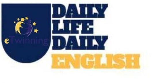 Daily Life,Daily English eTwinning Projesi