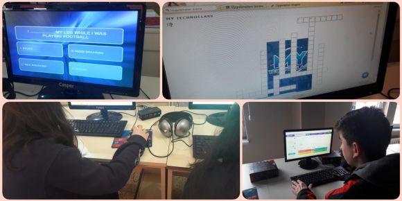 My Technoclass E Twinning Projesi şubat ayı çalışmaları