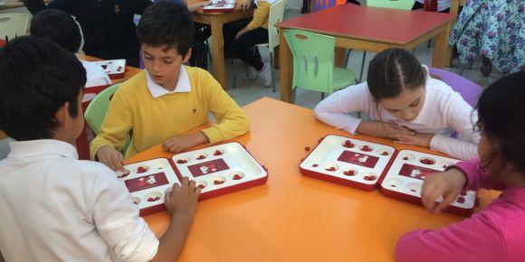 Sıdıka İlkokulu Zeka Oyunları Turnuvası Yapıldı