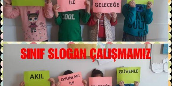 Sınıf Slogan Çalışmamız da Tamam