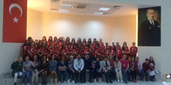 """19 Mayıs Ortaokulu  Erasmus+/eTwinning """"STEAM"""" projeleri ilk hareketliliği Mersin'de"""