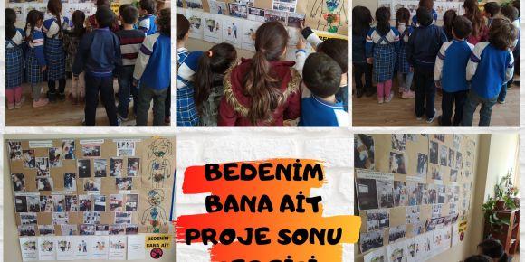 Süleyman Şah İlkokulu Bedenim Bana Ait E Twinning Projesi Sergisi
