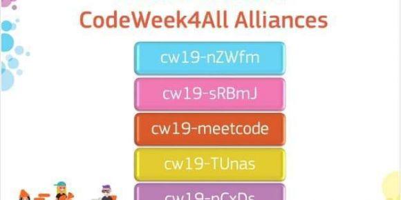 Projemiz için hazırladığımız Codeweek4All kodu tüm dünyada en çok kullanılan 4. cod oldu.