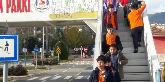 Trafik eğitim parkı gezisi