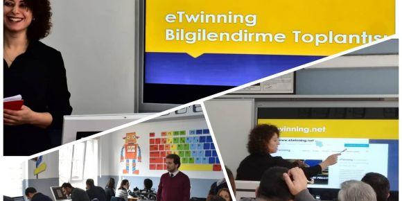 e-Twinning Bilgilendirme Eğitimi Verildi