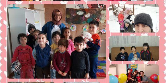 Mutlu Çocuklar Atölyesi Sevgi Ayı Etkinlikleri
