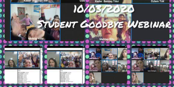 Öğrenci hoşçakal webinarı