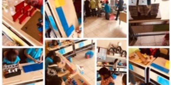 Şamlı Şehit Mustafa Adışen İlkokulu 3/A sınıfı  Matematik Müzesi  hazırladı