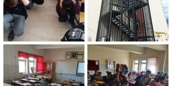 Okulumuzda 28 Şubat Sivil Savunma Günü ve 1-7 Mart Deprem Haftası etkinlikleri