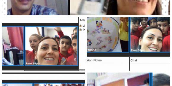 Öğrencilerimizin tanışma webinarı
