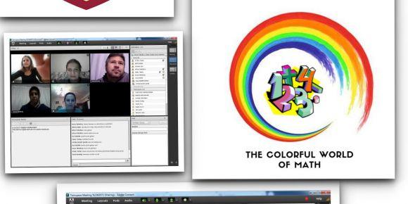 eTwinning Matematiğin Renkli Dünyası Projesi Çevrimiçi Öğretmen Görüşmesi Yapıldı