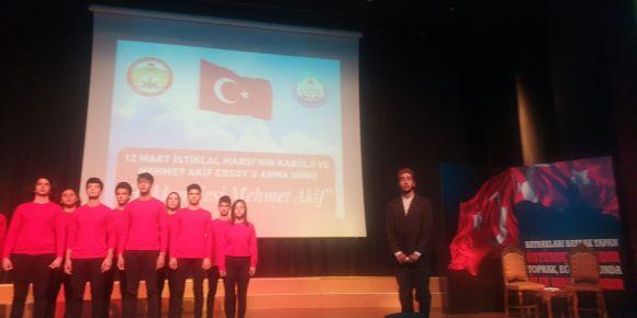 Aydınlık Yolun Hüzünlü Yolcusu Oratoryosu Sungurbey Anadolu Lisesi