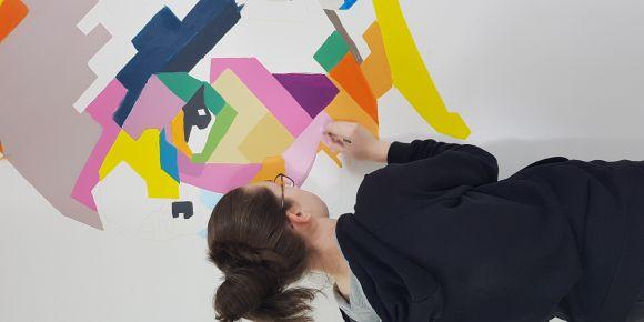 e Twinning  projemiz Art Autographs 2020 Duvar Resimleri ve Benjamin Heine